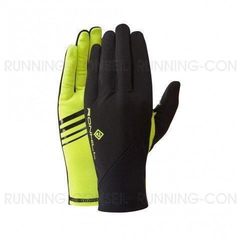 RONHILL Gants Wind-Block | Black / Fluo Yellow