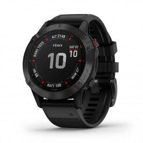 GARMIN fēnix 6 Pro noir avec bracelet noir