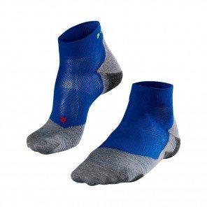 FALKE Chaussettes Running RU5 Lightweight Short Homme Gris / Bleu