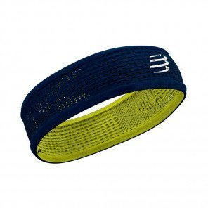 COMPRESSPORT Bandeau THIN HEADBAND ON/OFF | Bleu/Vert