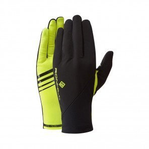 RONHILL Gants Wind-Block | Black / Fluo Yellow