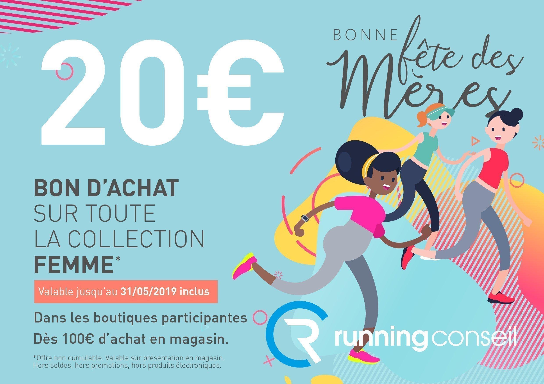 Fête des mères 2019 Running Conseil